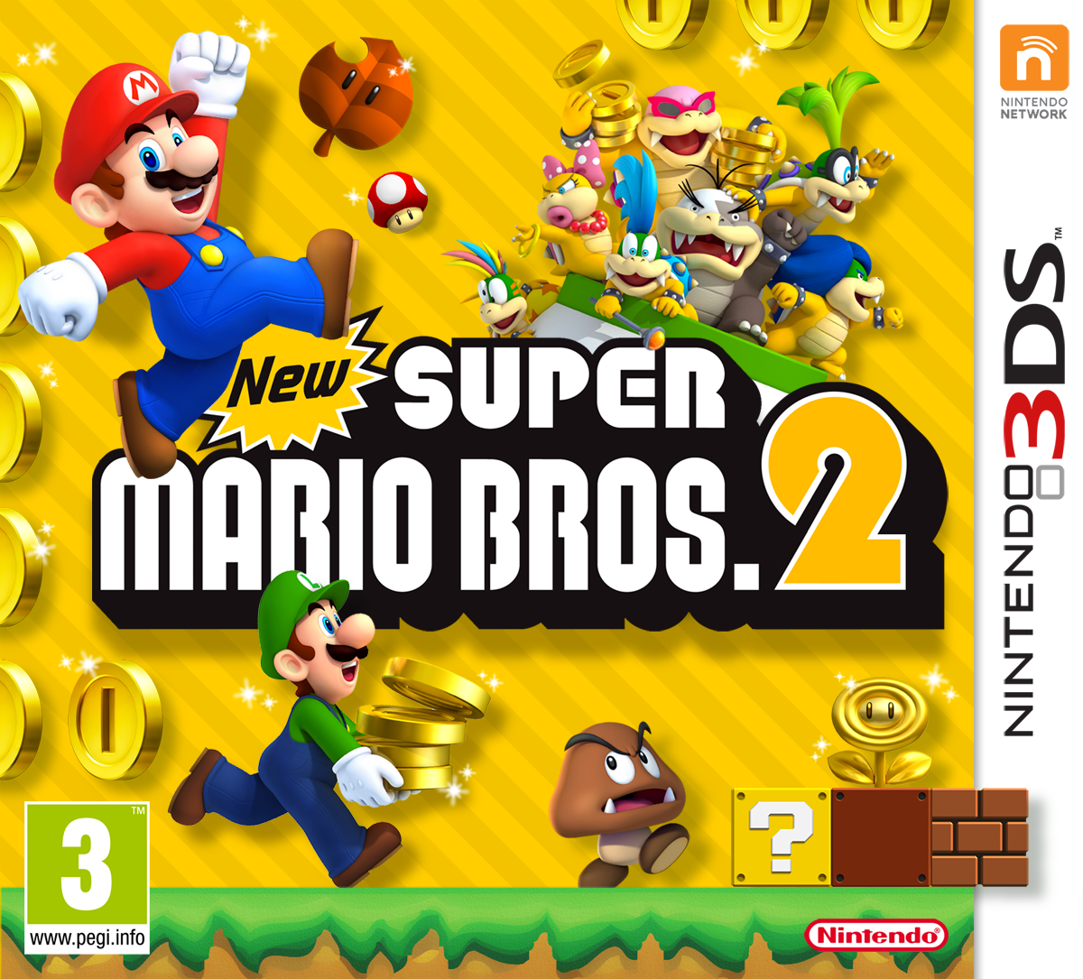 New Super Mario Bros 2 3ds Konsolinet