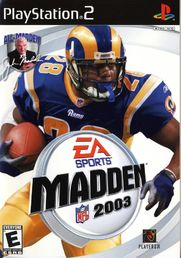 Madden NFL 2003 PS2