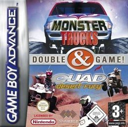 Monsters Trucks & Quad Desert Fury GBA (käytetty)