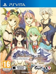 Atelier Shallie Alchemists of the Dusk Sea PS Vita