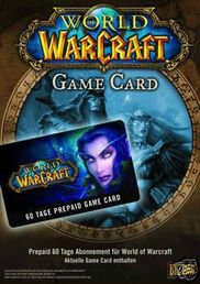 World of Warcraft -peliaikakortti PC