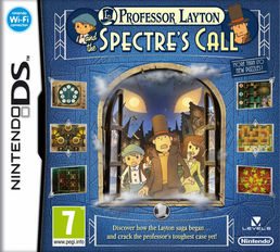 Professor Layton and the Spectre`s Call Nintendo DS