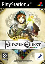 Puzzle Quest: Challenge of the Warlords PS2