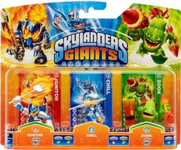 Skylanders Giants Triple Pack B PS3/X360/Wii/PC/3DS