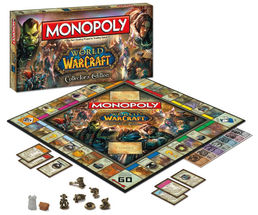 Monopoly World Of Warcraft Edition Lautapeli