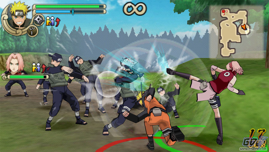 naruto psp games highly compressed download