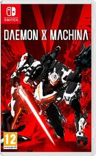 Daemon X Machina Switch kansikuva
