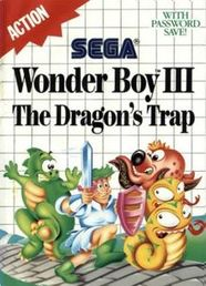 Wonder Boy III The Dragon's Trap Master System (käytetty)