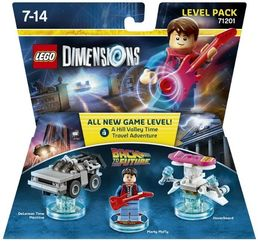Lego Dimensions Level Pack Back to the Future lisäosa
