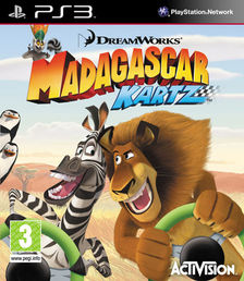 Madagaskar: Kartz PS3