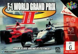 F-1 World Grand Prix N64 (käytetty)