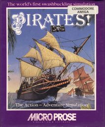 Pirates! The Action - Adventure Simulation Amiga
