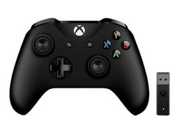 Xbox One Wireless Controller Black + Windows Adapter