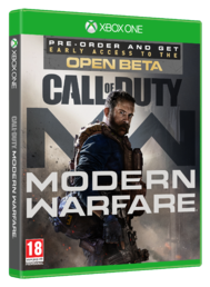 Call of Duty Modern Warfare Beta cover Xbox One