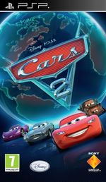 Cars 2: The Videogame PSP