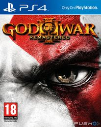 God of War III Remastered PS4 kansikuva