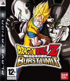 Dragonball Z: Burst Limit PS3 kansikuva