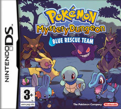 Pokemon Mystery Dungeon: Blue Rescue Team Nintendo DS