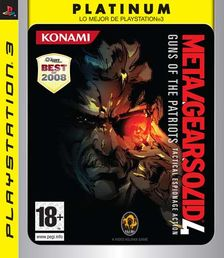 Metal Gear Solid 4: Guns of the Patriots Platinum PS3