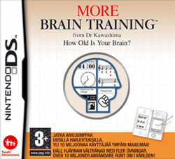 More Brain Training from Dr Kawashima: How Old Is Your Brain? Nintendo DS