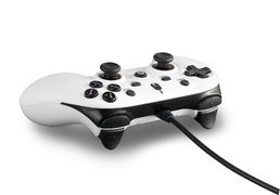 Spartan Gear Wired Controller PC/PS3 Oplon White