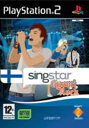 Singstar SuomiRock PS2
