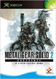 Metal Gear Solid 2 Substance Xbox